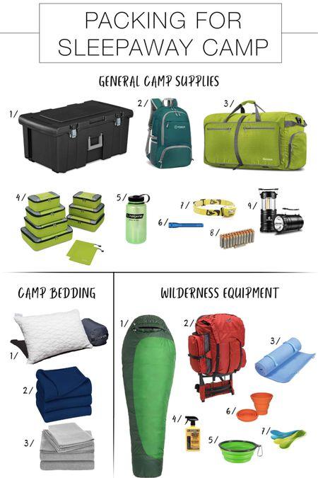 http://liketk.it/2BWE6 #liketkit @liketoknow.it Sleepaway Camp Packing List that's Shoppable
