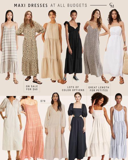 Maxi dress at every price point. Summer maxi dresses. http://liketk.it/3kekc @liketoknow.it #liketkit #LTKstyletip