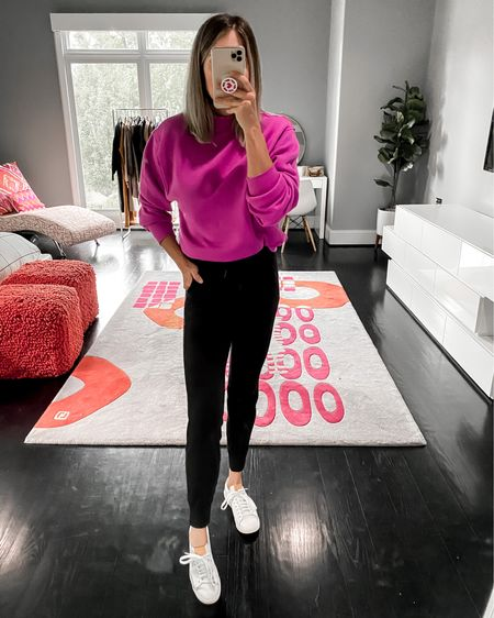 This sweatshirt sold out already during the Nordstrom Anniversary Sale, but I found it on SALE and fully stocked in six different colors on the Alo Yoga website.🙌🏻🙌🏻 So many great colors to pick from! http://liketk.it/2Uh0s #liketkit @liketoknow.it #LTKunder100 #LTKsalealert #LTKfit