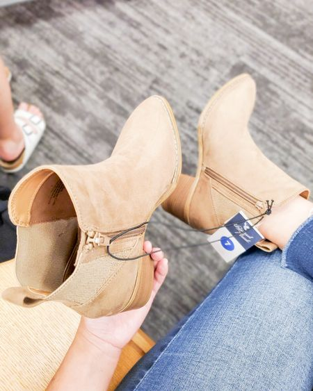 New fall ankle boots from Target. True to size. booties, fall looks, targetfavefinds, target trends, target finds  #ltkshoecrush #ltkstyletip #ltkunder50