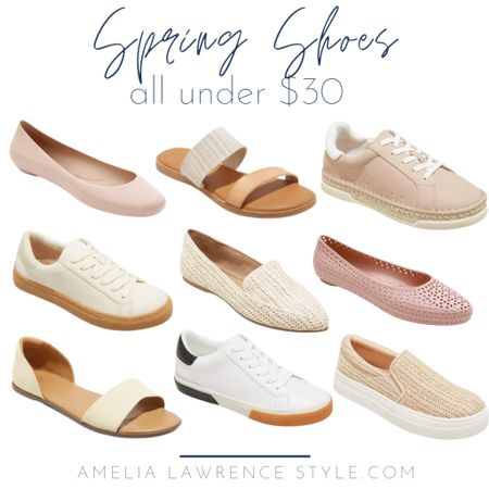 Loving these shoes for the spring. I have a couple of these and getting ready to buy one more pair.   Spring, spring fashion, target finds, spring shoes, target style  #LTKSeasonal #LTKshoecrush #LTKunder50