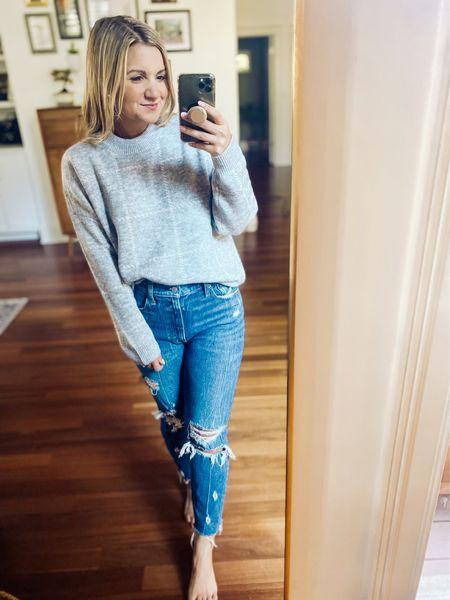 Cozy sweater   #LTKunder100 #LTKSeasonal #LTKsalealert