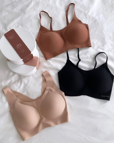 20% off comfortable wireless everyday bras // Neiwai BarelyZero   these bras are extra stretchy, seamless, wireless, pregnancy & nursing friendly and have removable padding. Use code Jean for 20% off! Heads up the 2021 versions take 3 weeks to ship but the 2020 version will ship within 1 week.  #NEWAI #BarelyZero #YourSizeIsTheSize  #LTKunder50 #LTKstyletip #LTKbump