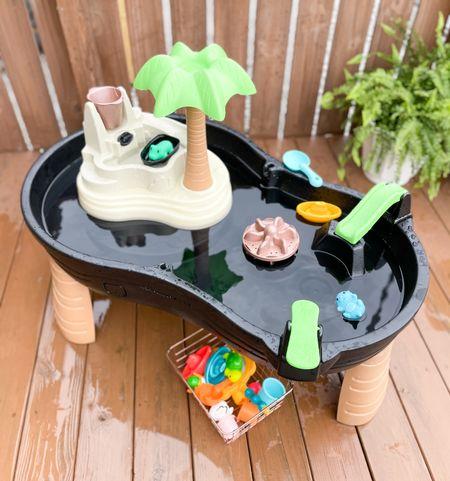DIY kids water table makeover.   #LTKfamily #LTKSeasonal #LTKbaby