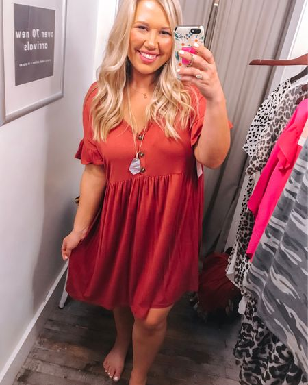 This dress is easily one of my new favorites, and now I want it in every color!! $29 and oh so comfy. #liketkit @liketoknow.it http://liketk.it/2EgWf