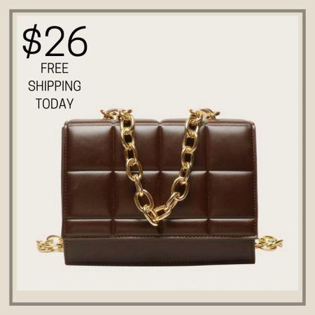 Plaid flap chain shoulder purse  #LTKunder50 #LTKstyletip #LTKitbag