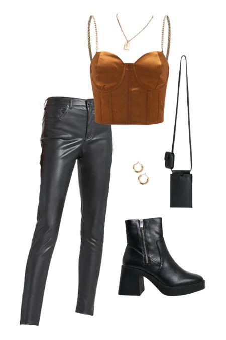 One of my favorite date night outfits with leather leggings/leather pants for a night out! Check out this date night outfit with leather leggings/leather pants (also a going out outfit or night out outfit) for a super trendy outfit and look! #shein #datenight #datenightoutfits #trendyoutfits #trendyoutfit #leatherleggings #leatherpants / #liketkit @liketoknow.it #LTKunder50 #LTKunder100 #LTKSeasonal http://liketk.it/37xo0