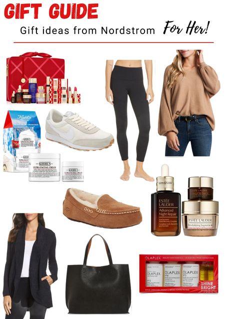 Gift ideas for her from Nordstrom! #LTKGiftGuide #ltkbeauty #ltkunder100