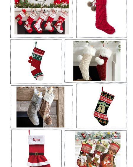 The stockings were hung by the chimney with care....  Shop your screenshot of this pic with the LIKEtoKNOW.it shopping app   http://liketk.it/31nQ1 #liketkit @liketoknow.it   #LTKgiftspo #StayHomeWithLTK #LTKunder100