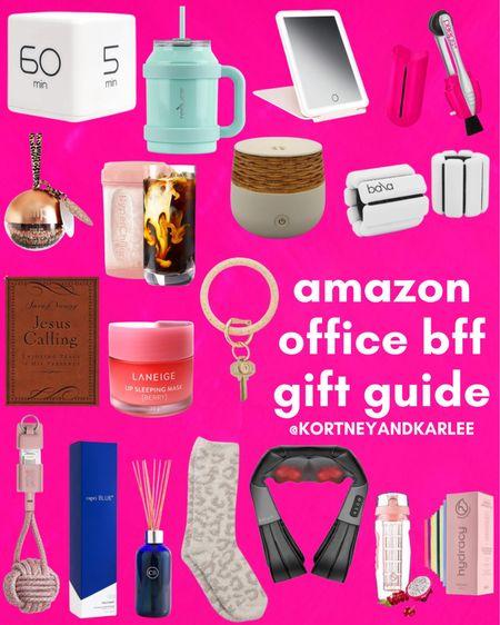 Amazon Office BFF Gift Guide!  Coworker gift guide | Amazon coworker gift guide | work from home gift guide | amazon home office | amazon office finds | amazon office favorites | amazon office gift ideas | Amazon gifts for her | Amazon gift guide | Amazon for her gift guide | amazon gifts under $25 | under $25 gift guide | under $25 amazon gift guide | gift guide under $25 | amazon gift guide under $25 | cozy girl gift guide | amazon gift guide for her | amazon gift guide for the girly girl | amazon gift ideas | amazon gift ideas for her | gift ideas for her | cozy gift guide | cozy gift ideas | self care gift guide | self care gifts | Amazon finds | amazon girly things | amazon beauty | amazon home finds | amazon self care | amazon beauty favorites | amazon fashion favorites | amazon must haves | amazon best sellers | amazon fall finds | amazon fall favorites | fall favorites | amazon fall essentials | amazon fall must haves | amazon travel favorites | amazon travel finds | amazon travel must haves | amazon winter finds | amazon winter favorites | winter favorites | amazon gift ideas | gift guide amazon | holiday gift guide | amazon gifts | gift ideas from amazon | gift guide from amazon | amazon winter decor | amazon winter home decor | amazon winter things | amazon Christmas gifts | amazon Christmas gift guide | amazon Christmas gift ideas | amazon vacay favorites | amazon vacation favorites | amazon stocking stuffers | stocking stuffers for her | amazon prime stocking stuffers | stocking stuffer ideas | stocking stuffers amazon prime | amazon prime gift ideas | amazon stocking ideas | amazon prime gift ideas | amazon gift guide for her | stocking stuffers for her | stocking stuffers from amazon | stocking stuffers for girls | stocking stuffers for women | Kortney and Karlee | #kortneyandkarlee #LTKGifts @liketoknow.it #liketkit  #LTKunder50 #LTKunder100 #LTKsalealert #LTKstyletip #LTKshoecrush #LTKSeasonal #LTKtravel #LTKbeauty #LTKhome #LTKHoliday #LTKGiftGuide