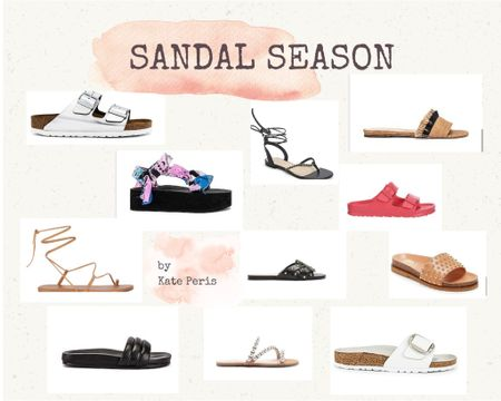 Summer Sandals Time!! Travel, poolside, everyday to errands, these are my personal sandal selections. 🔥 http://liketk.it/3iEyx #liketkit @liketoknow.it @liketoknow.it.home Download the LIKEtoKNOW.it shopping app to shop this pic via screenshot #birkenstock #summersandals #sandals #birkenstockstyle #summerstyle #celebritystylist #styleadvice #summershoetrends