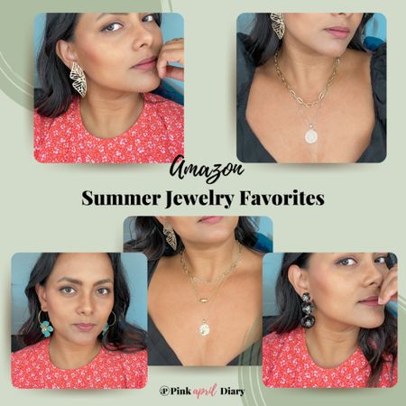 Amazon Summer Jewelry Favorites that will transform your outfits on a budget. #liketoknowit  #LTKunder50 #LTKstyletip
