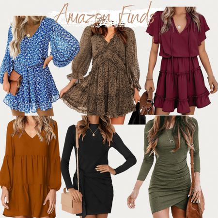 Amazon fashion, found it on Amazon, Amazon fashion finds, dresses, fall outfit, fall style, fall dresses, summer style, summer outfits, summer dresses, bodycon, ruffle dress, baby doll dress, maternity dress, tunic dress, wedding guest dresses, summer dress, summer trends, beach vacation,   #LTKunder50 #LTKstyletip #LTKworkwear