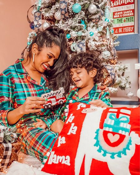Matching family jammies and holiday decor, oh love this time of the year! http://liketk.it/2H5yV #liketkit @liketoknow.it #LTKholidayathome #LTKholidaystyle #LTKbaby @liketoknow.it.family @liketoknow.it.home #matchingjammies #pajamaparty #holidaydecorations #christmastree Screenshot this pic to get shoppable product details with the LIKEtoKNOW.it shopping app