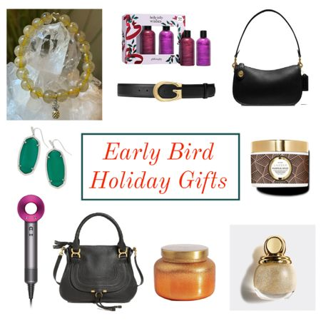 Holiday gift ideas gif her to buy early! 🙌 everyone is shopping early this holiday season, it's a good idea to start shopping now! Here are a few fabulous holiday gift ideas for her that she will live ❤️ holiday gifts ❤️ holiday gift ideas ❤️  #LTKbeauty #LTKHoliday #LTKGiftGuide