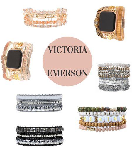 Victoria Emerson bracelets ✨ http://liketk.it/3jylF #liketkit @liketoknow.it #LTKstyletip #LTKunder100 #LTKunder50