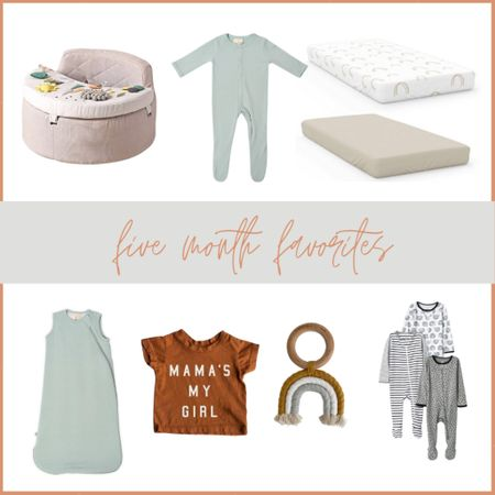 Sylas's Five Month Favorites! The goumikids sheets and Kyte Baby items are the absolute SOFTEST things in the world. 😍  #LTKfamily #LTKbaby #LTKbump