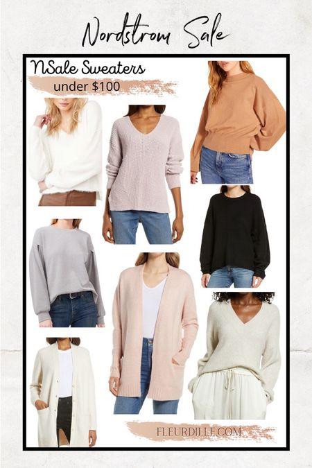 My go-to sweater picks from the Nordstrom sale.   #LTKsalealert #LTKunder100 #LTKstyletip