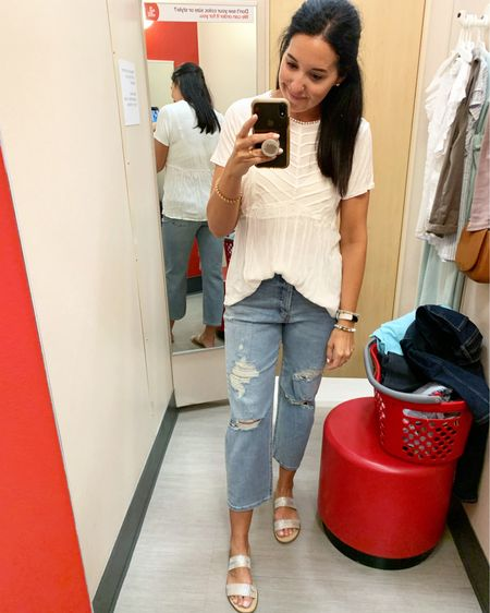 These jeans were very comfortable! I needed a size smaller because they were too big in the waist. If you are between sizes I'd suggest sizing down!