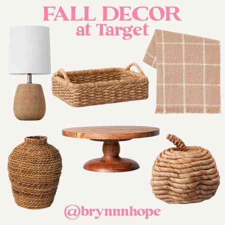 New fall decor at target!! 😍 everything is super affordable too! ($25 or less!)   #LTKhome #LTKunder50 #LTKSeasonal
