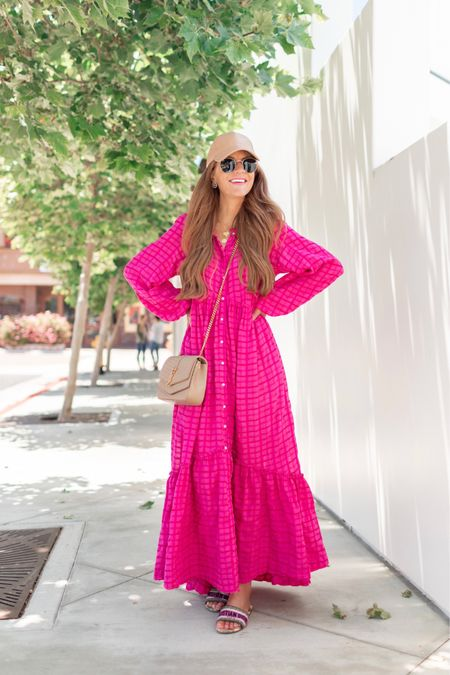 Two new @freepeople dresses I am loving for Summer! First, this fabulous pink maxi that I styled dressy with a belt & heel, then also casual with a flat sandal. It comes in a few colors, but this pink is bliss! Second, a simple & mega comfy white mini. I adore the long sleeves & baby doll fit! You could wear it as a top too- just front tuck it into a pair of cutoffs or jeans 🙌🏻 Shop both these Summer must haves by following me in the @liketoknow.it app  http://liketk.it/3hFZP   #liketkit #freepeople #freepeoplepartner