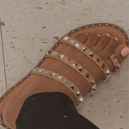 I was debating on these cute sandals form TJ Max the other day. I did not end up purchasing them, but I think I'm going to go back and grab them!  I've attached some similar sandals http://liketk.it/3aMgW #liketkit @liketoknow.it #LTKstyletip