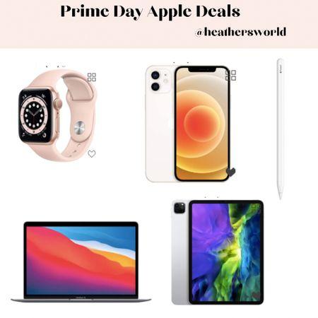 Prime day Apple deals   #lktit #apple #primeday #applewatch #iphone #ipad #macbook #applepencil   #LTKhome #LTKsalealert