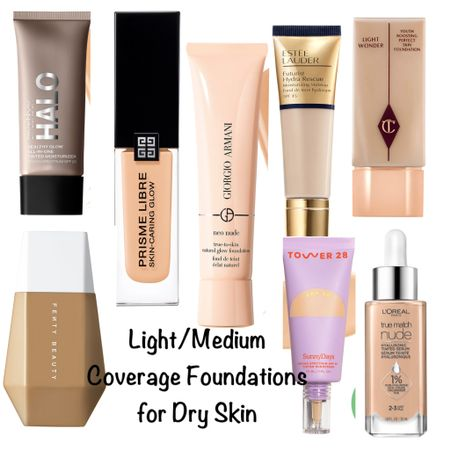 Some foundation recommendations for all my dry skin beauties out there!  #steffsbeautystash   #LTKunder50 #LTKbeauty #LTKworkwear