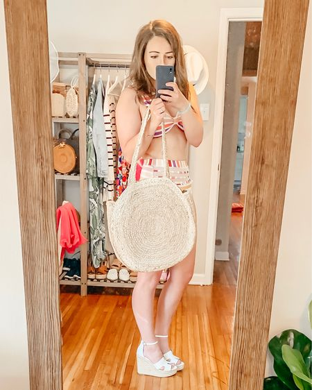 Red Dress Boutique try on - round straw beach bag http://liketk.it/2D25c @liketoknow.it #liketkit #LTKsalealert #LTKitbag #LTKshoecrush #LTKspring #LTKstyletip #LTKswim #LTKtravel #LTKunder50 #LTKunder100