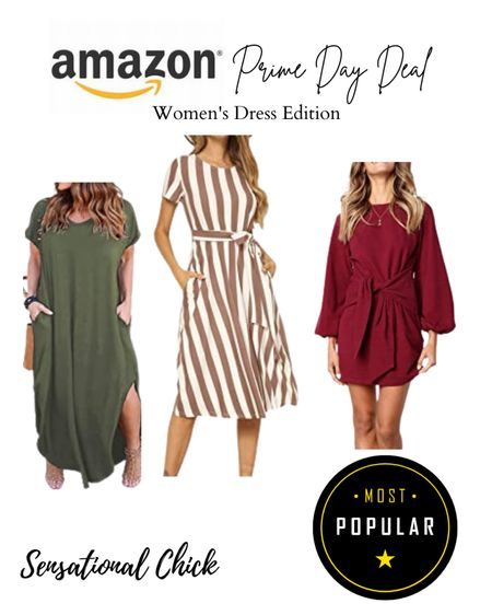 Amazon Prime Day is here! Take advantage of these amazing deals on trendy  summer dresses! http://liketk.it/3i5nR #liketkit @liketoknow.it #LTKunder50 #LTKstyletip #LTKsalealert Follow me on the LIKEtoKNOW.it shopping app to get the product details for this look and others