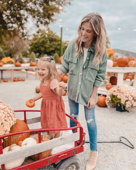 Took the little pumpkins to pick out some pumpkins for this years porch—I'm a bit behind, but better late than never! 🧡     #LTKSeasonal #LTKsalealert #LTKstyletip