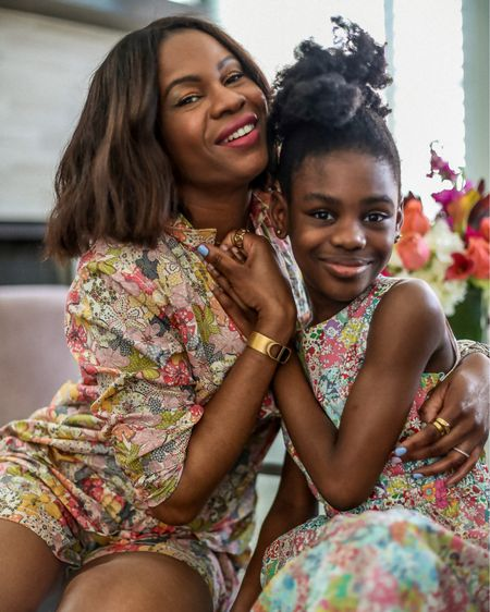 Wearing pretty floral prints with my mini me! Happy Mothets Day weekend   Shop the look. http://liketk.it/3eOgv #liketkit @liketoknow.it #LTKunder100 #LTKkids #LTKfamily