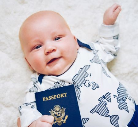 Tristan got his passport!!!! ✈️👏🏼🗺  Where should we go?   Where are the most 𝙗𝙖𝙗𝙮-𝙛𝙧𝙞𝙚𝙣𝙙𝙡𝙮 destinations across the globe? 🌍   I'd you've traveled with a 👶🏼, how old were they when you took them on their first trip, and 𝙝𝙤𝙬 𝙙𝙞𝙙 𝙞𝙩 𝙜𝙤? I'm dying to know!  𝘾𝙤𝙢𝙢𝙚𝙣𝙩 𝘽𝙚𝙡𝙤𝙬 👇🏼  #passport #newpassport #babypassport #newbornpassport #newbornpassportphoto #traveltheworld #startemyoung #mamablogger #momblogger #familytravel #travelfam #familytravels #travelfamily #familieswhotravel #travellingkids #kidsthattravel #gowithnugget #travelmum #exploringfamilies #familytraveltribe #familyadventures #travellingwithkids #travelingfamily #parentswhowander #familytravelblogger #familytraveller   #LTKtravel #LTKbaby #LTKfamily
