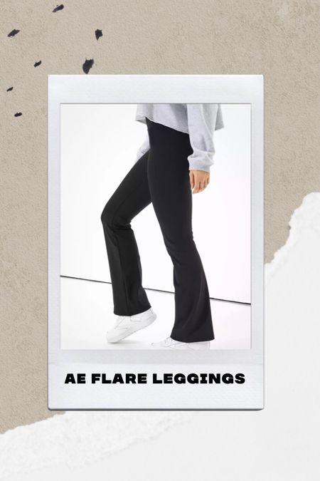 Ae comfy flare leggings  #LTKHoliday #LTKSeasonal #LTKsalealert