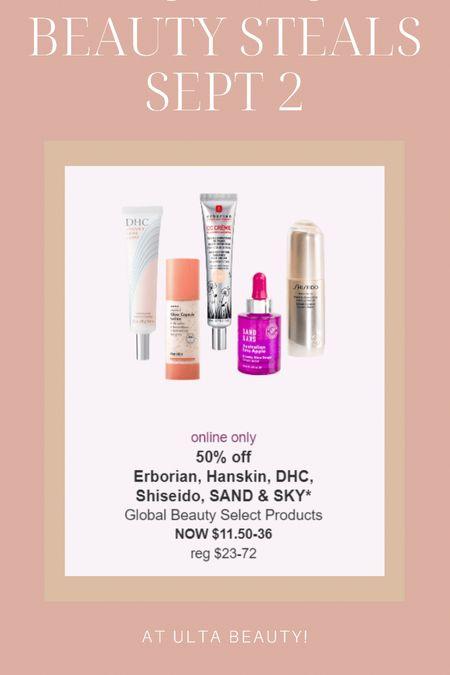 Today's skincare beauty deals at Ulta!  #LTKunder50 #LTKsalealert #LTKbeauty