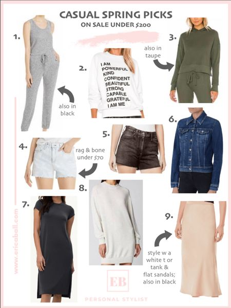 Casual spring picks are live.  Easy and simple pieces to look chic.  All on sale, under $200.  http://liketk.it/3cDdE #liketkit @liketoknow.it #LTKsalealert #LTKSpringSale #LTKstyletip Screenshot this pic to get shoppable product details with the LIKEtoKNOW.it shopping app