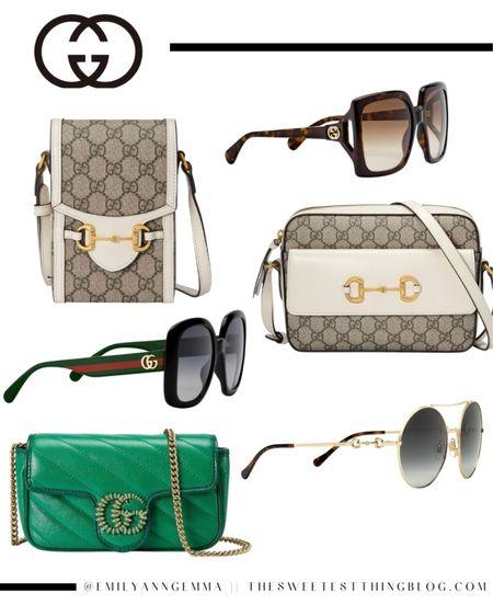 Gucci finds, Gucci handbag, Gucci sunglasses, Emily Ann Gemma, High end accessories http://liketk.it/3h6SJ #liketkit @liketoknow.it
