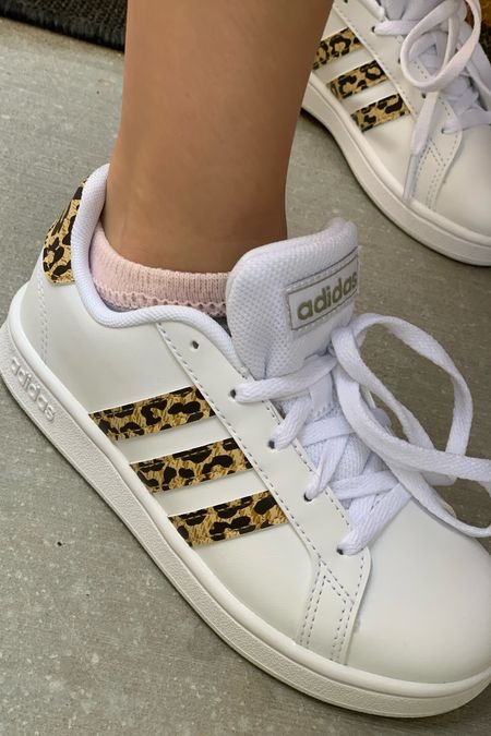 The girls love their leopard adidas! The superstars are comfy and cute, they run a little big so I would size down.   #LTKbacktoschool #LTKkids #LTKshoecrush