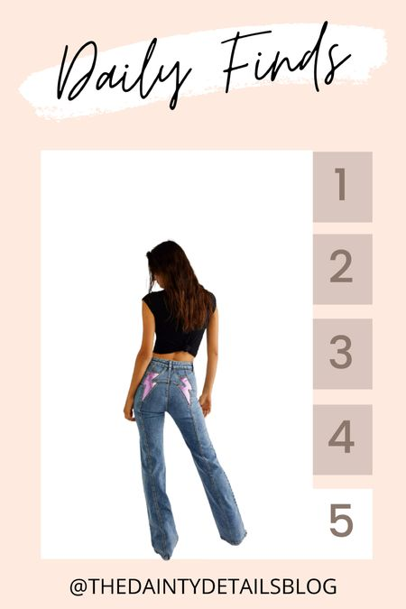 Daily finds: obsessed with these jeans!   #LTKunder100 #LTKstyletip