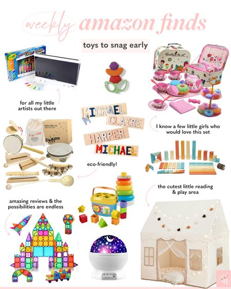 Amazon toys to snag now, Christmas gift ideas for all ages  #LTKkids #LTKGiftGuide #LTKHoliday