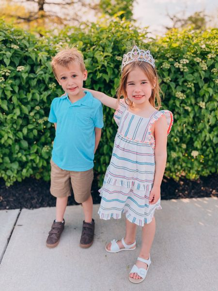 Boy and girl outfit   http://liketk.it/3fLE3 #liketkit @liketoknow.it #LTKkids #LTKfamily #LTKunder50 @liketoknow.it.family