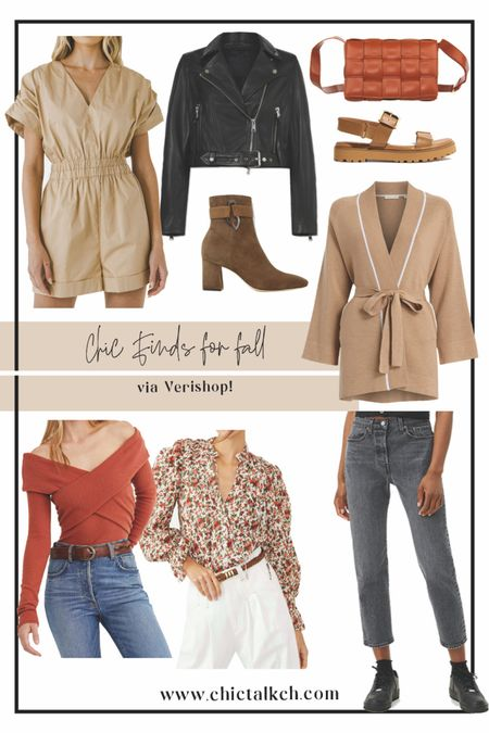Loving all these chic finds via Verishop! Enjoy up to 15% off select items! Fall fashion, fall outfits, fall style, fall looks  #LTKGiftGuide