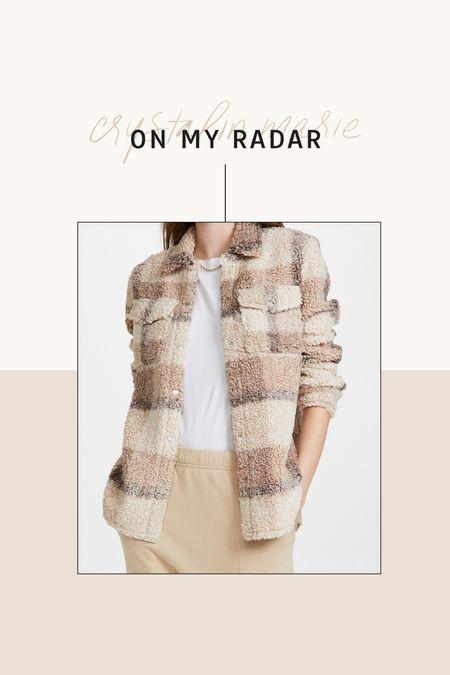 BB Dakota plaid Sherpa jacket    #LTKSeasonal