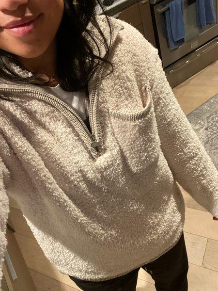Cozy pullover sweater! Barefoot dreams soft!! Under $40!   #LTKunder50 #LTKGiftGuide #LTKHoliday