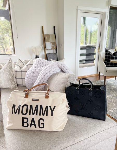 B A G S \ All about totes now that I'm a mom! Gotta have space to carry all the things!  #handbag #tote #mom #diaperbag  #LTKbaby #LTKitbag