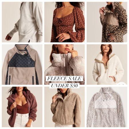 Abercrombie fleece sale happening now!! The time to buy that gift for her   #LTKsalealert #LTKunder50 #LTKGiftGuide
