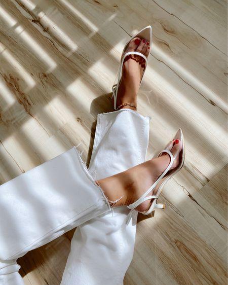Clear kitten heels, only $24!! -  @liketoknow.it http://liketk.it/2U9f7 #liketkit #LTKshoecrush