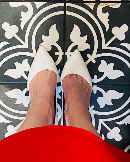 Everyone needs white heels for summer. Shop my favs 👉 http://liketk.it/3iJUK or Shop your screenshot of this pic with the LIKEtoKNOW.it shopping app @liketoknow.it #liketkit #LTKworkwear #LTKunder100 #LTKstyletip