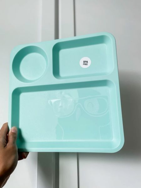 Toddler and kids tray for meal times and snacks. Only  $1 each or $3-$5 for a set of 6 plates! It's a 10 inch plastic kids square plate by Pillowfort from Target. My toddler loves these trays and I love that they're dishwasher safe.     #LTKkids #LTKbaby #LTKfamily #liketkit @liketoknow.it @liketoknow.it.family http://liketk.it/3jLBe    Follow me on the LIKEtoKNOW.it shopping app to get the product details for this look and others