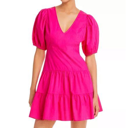 Pink tiered dress   #LTKSeasonal #LTKtravel #LTKwedding